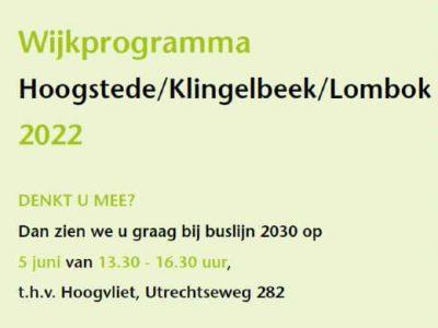 Wijkprogramma 2022